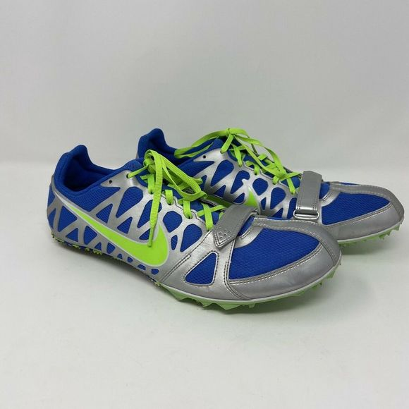 Track /& Field Shoes 12 12.5 Silver Men/'s Nike Zoom Rival S 5